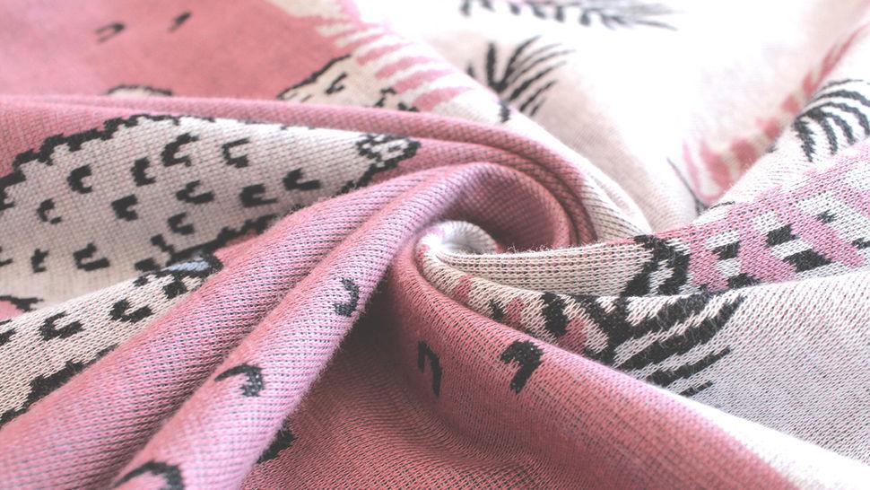 Jacquardstoff Rapport altrosa: Lama - 150 cm im Makerist Materialshop - Bild 12