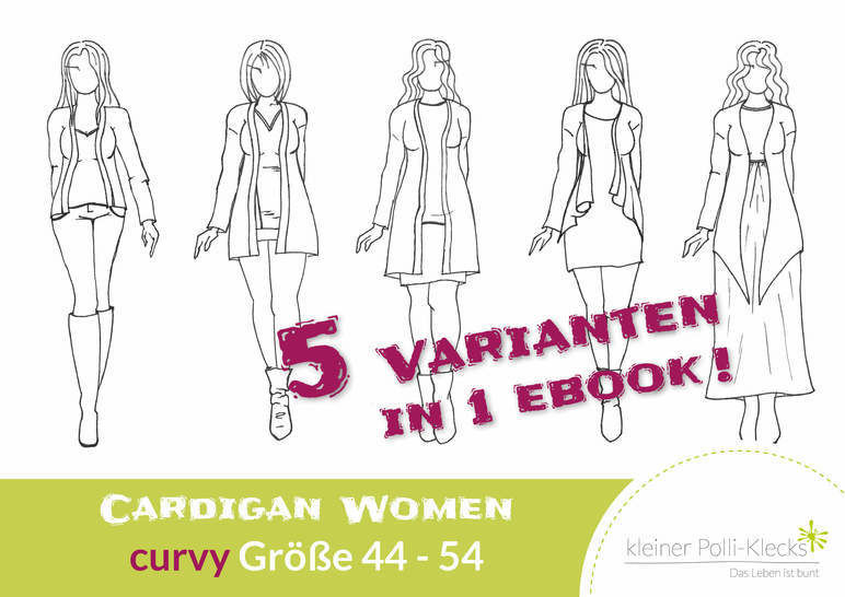 eBook • Cardigan Women • Gr. 44 - 54