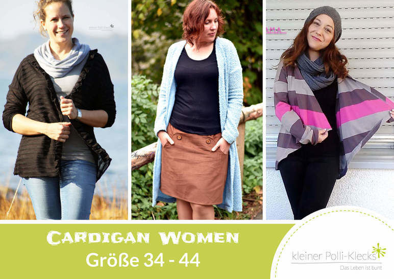 eBook • Cardigan Women • Gr. 34-44