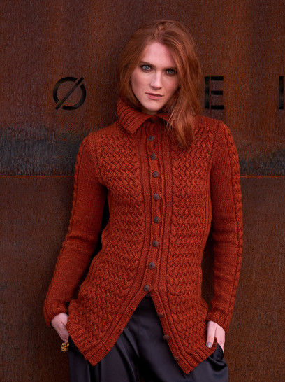 Ena Jacket Sizes XS-2XL PDF Knitting Pattern