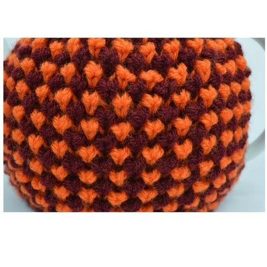 Twisted Tweed Teapot Cozy & Egg Cozy