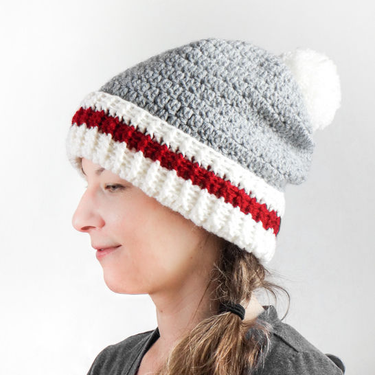 003- The Canadian sock hat
