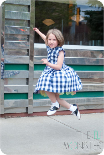 The Picknick Dress - Sewing Pattern for sizes 12m-12y