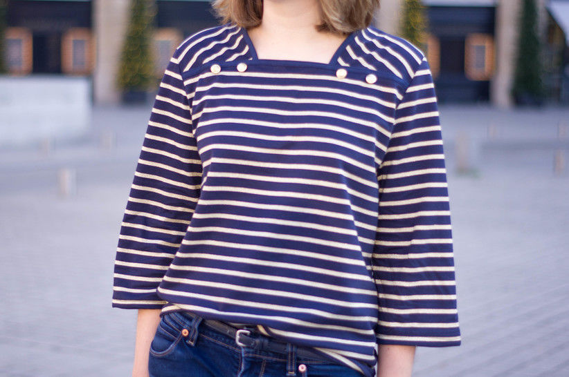Osris - Striped Sweater or Dress Sewing Pattern