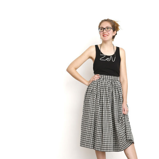 Hestia - Short or Long Skirt Sewing Pattern