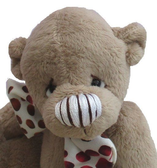 Brambley-Tum teddy bear soft toy sewing pattern PDF animal