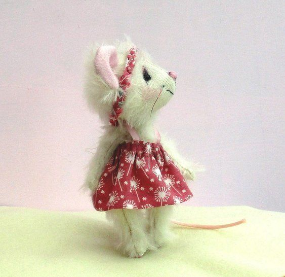 Carrie mini mouse soft toy sewing pattern