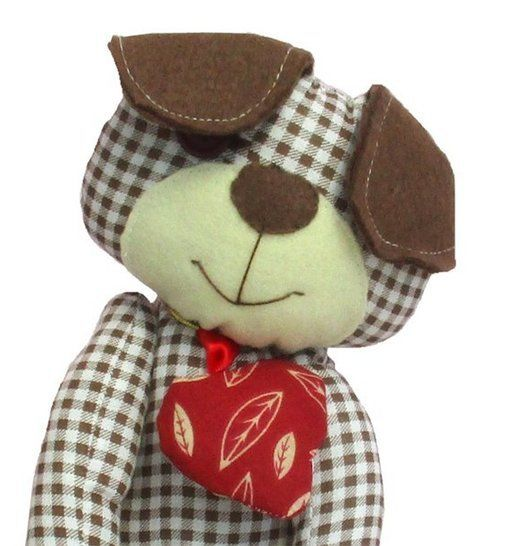 Harris puppy dog soft toy sewing pattern