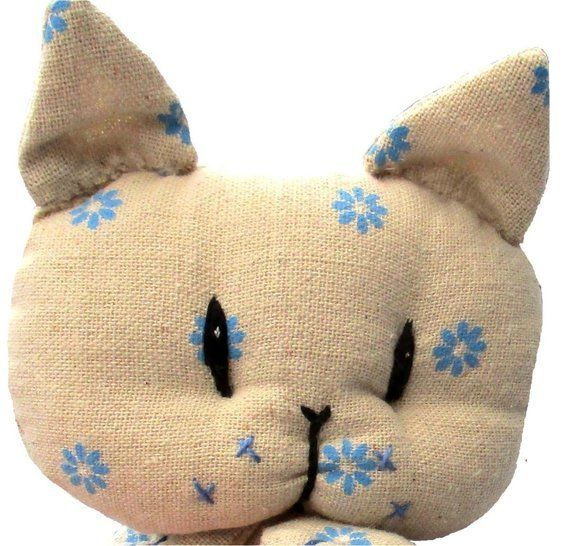 Coorie kitten soft toy cat sewing pattern