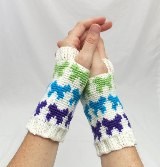 Butterfly Mitts