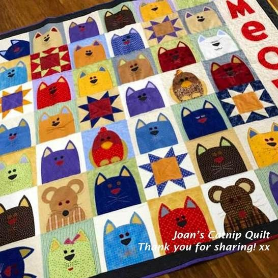 The Catnip Cats - Quilt Pattern