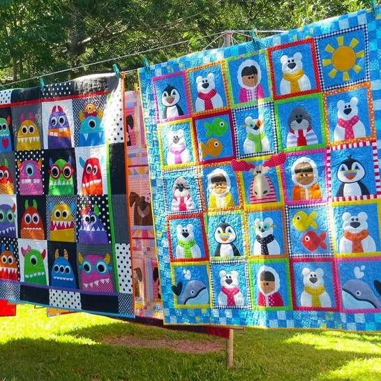 Fun at the North Pole - Quilt Pattern