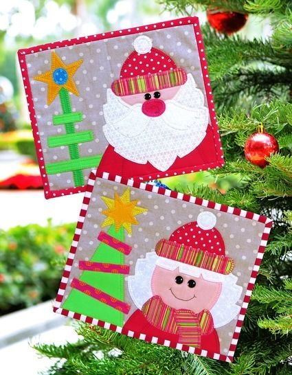 Merry Christmas Snack Mats