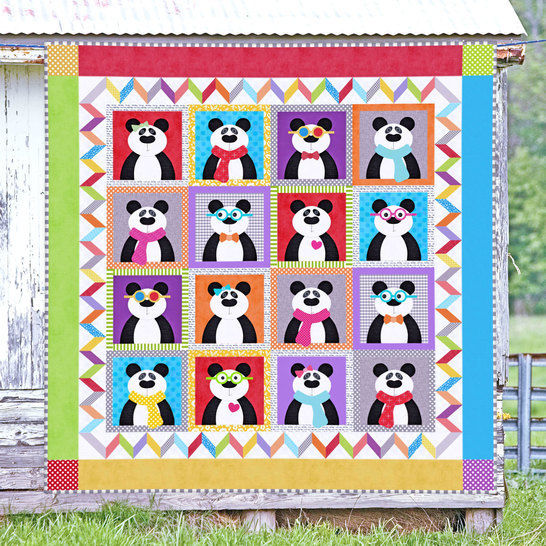 Panda Party - Quilt Pattern