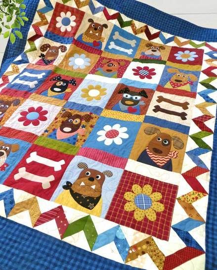 The Kennel Club - Quilt Pattern