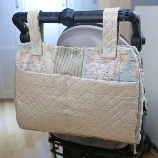 Universal footmuff PDF Sewing Pattern  and a Stroller Bag