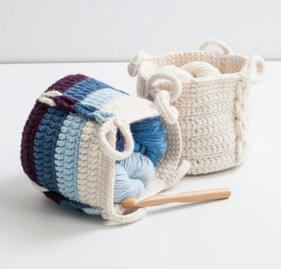 Entwined Basket
