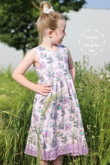 Breezy Summer Dress Gr. 86-164 - Top/Tunika/Kleid/Maxikleid