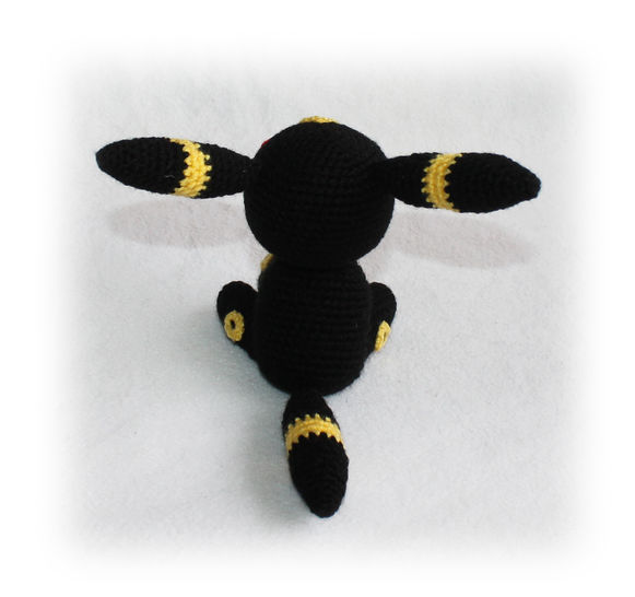 Umbreon Plushie | Pokemon crochet pattern, Pokemon pattern ... | 546x581