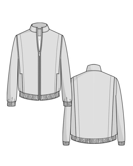 Cèdre Blouson - sewing pattern + detailed instructions