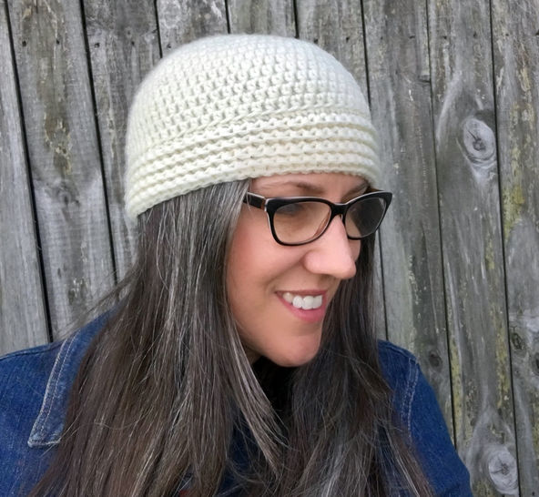 Buttoned Up Beanie