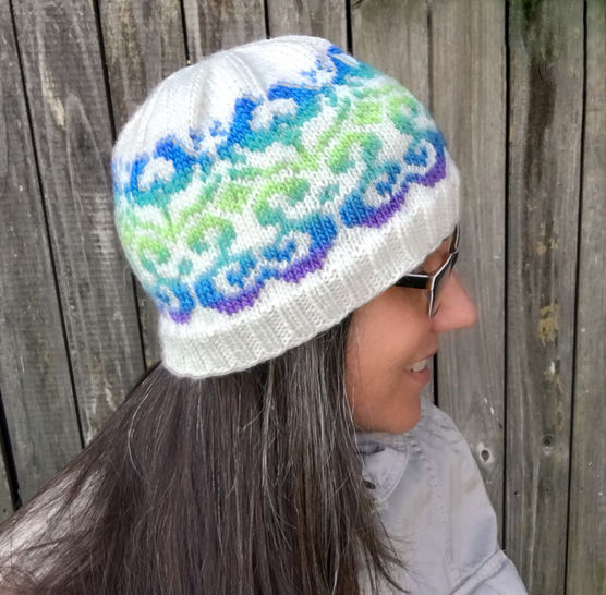 All Ages Blossoming Beanie