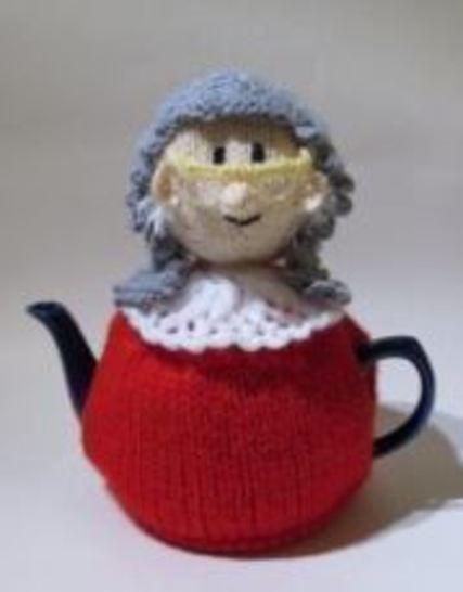 Judge tea cosy