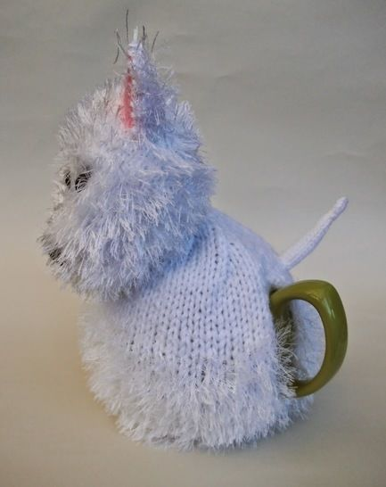 West highland terrier (Westie) tea cosy