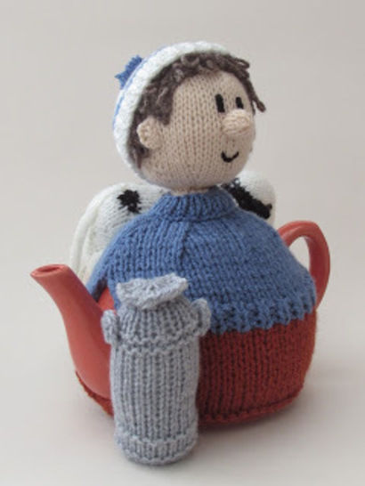 Diary farmer tea cosy
