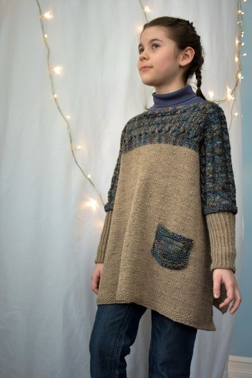 Altiplano Poncho knitting pattern