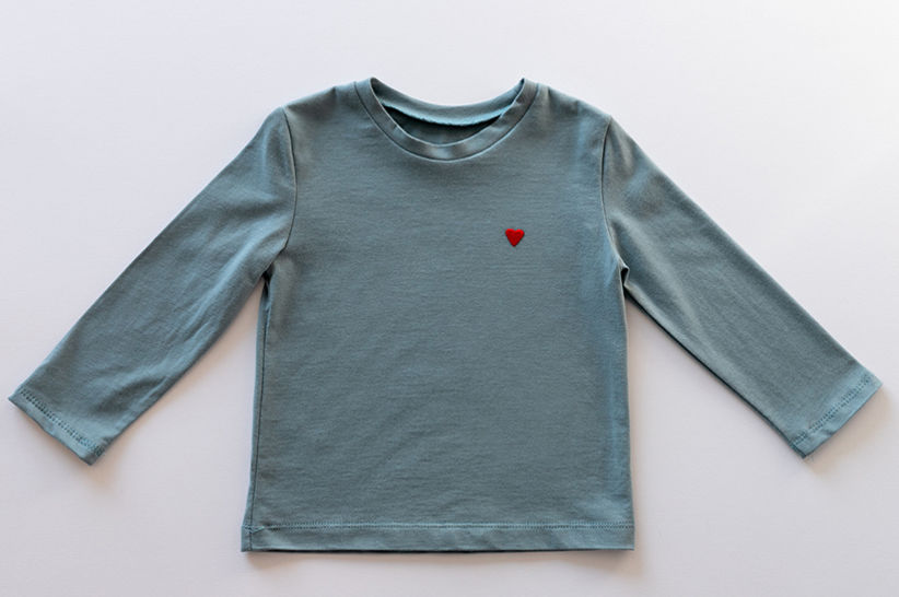 KIDS T-SHIRT PDF SEWING PATTERN WITH INSTRUCTIONS