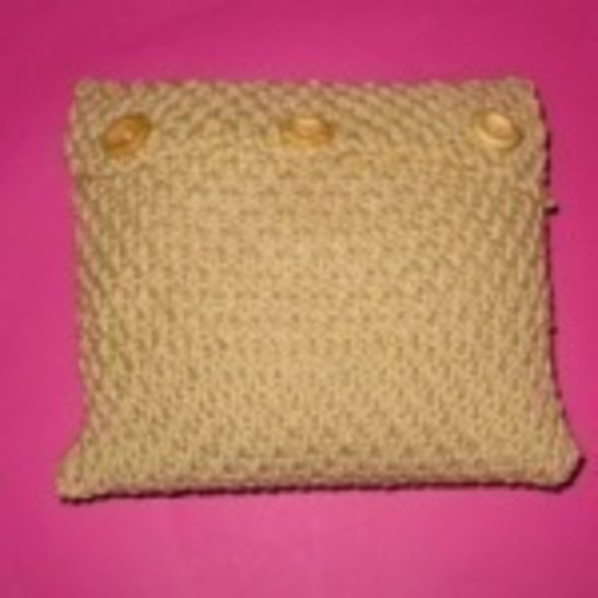 Superfast Double Moss Stitch Cushion Cover -3 sizes