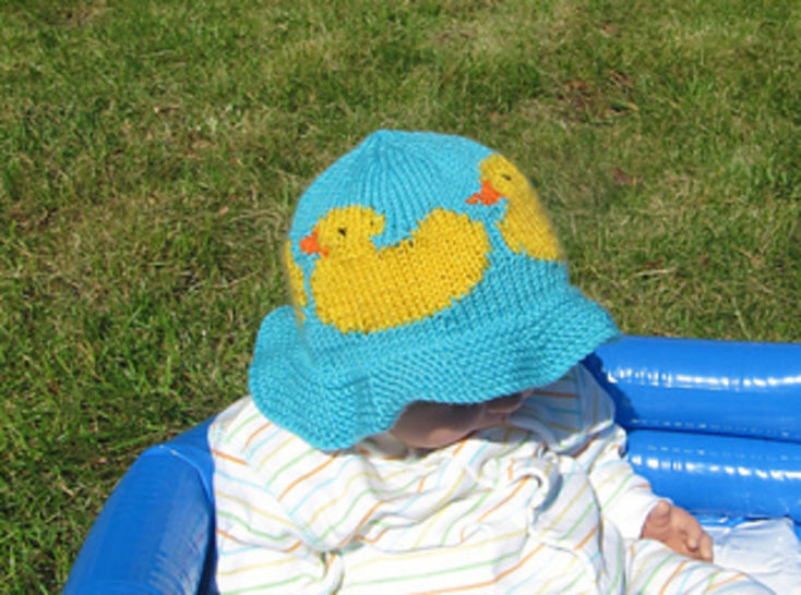 Baby And Child Rubber Duck Sun Hat