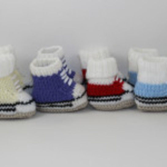 Chunky Baby Basketball Booties