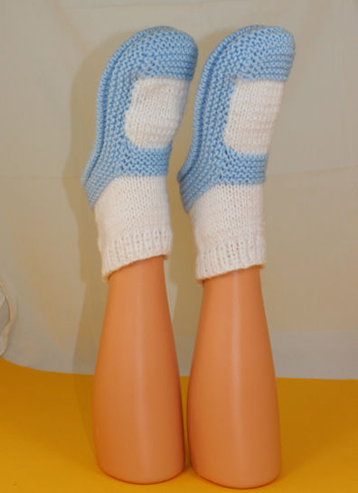 Adult Chunky Sock Slippers