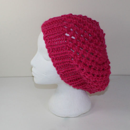 Super Chunky Lace Slouch Hat