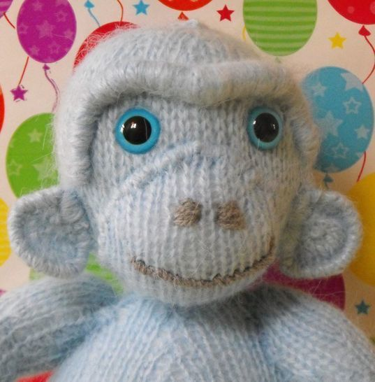 MARVIN THE BLUE MONKEY