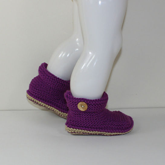 Toddler One Button Ankle Boots