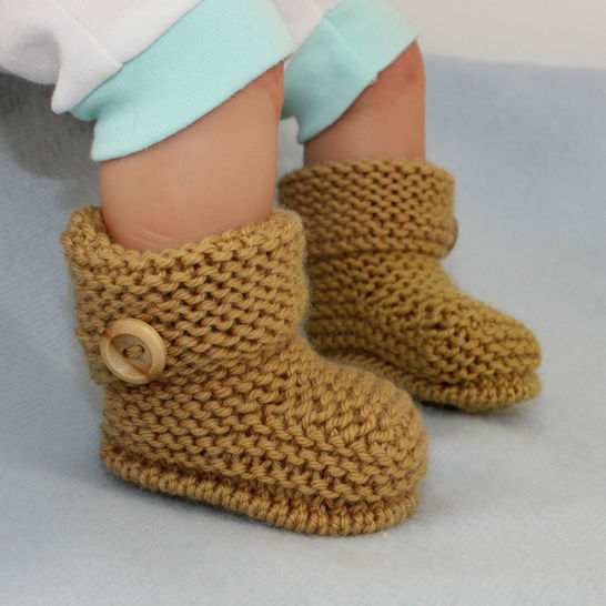 Baby Simple Cuff Boots
