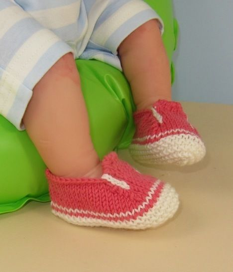 Baby Simple Slip on Deck Shoes