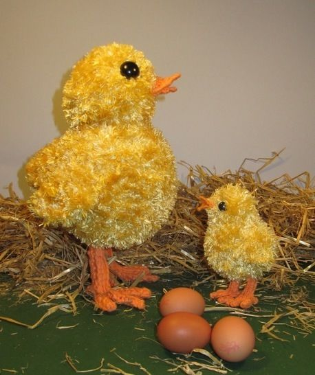 FREE Easter Big Chick Little Chick