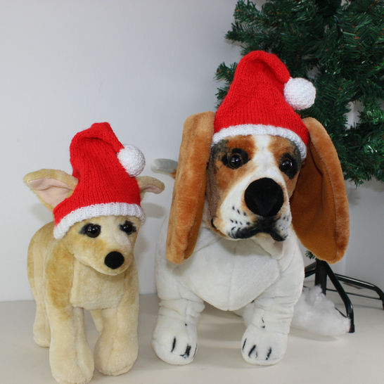 FREE Dog Christmas Santa Hat
