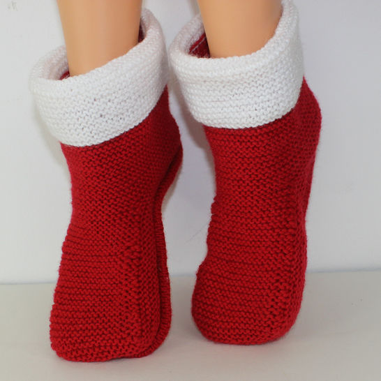 Ladies Simple Christmas Boots
