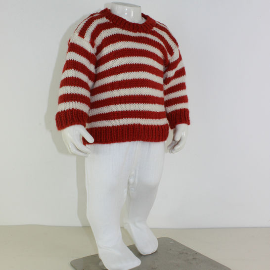 Baby Simple Stripe Sweater