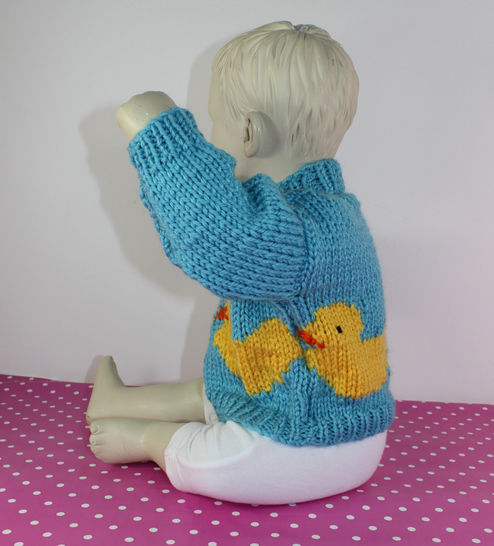 Baby & Toddler Chunky Rubber Duck Sweater
