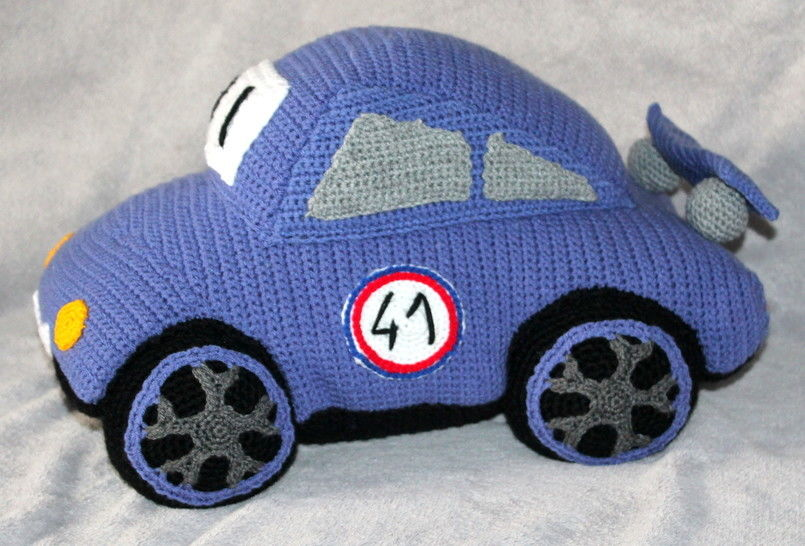 crochet pattern sports car