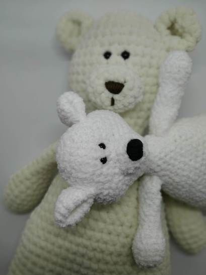 Amigurumi – Elliott the bear - crochet – tutorial