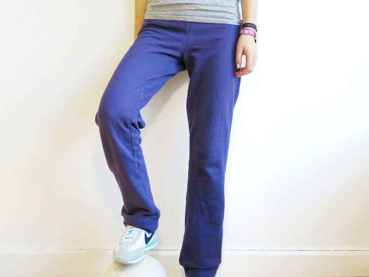 Madame PAULI - Pantalon en sweat XS-XL - couture