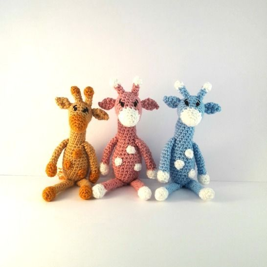 Crochet Pattern For Baby Giraffe PATTERN ONLY | Giraffe crochet ... | 546x546