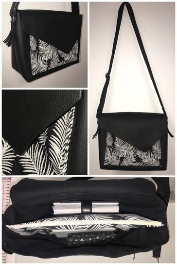 Sac Besace Middle by Viny DIY